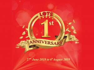 LOTS Wholesale Solutions first anniversary in India