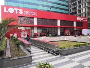 LOTS Wholesale Solutions first store in Noida Uttar Pradesh