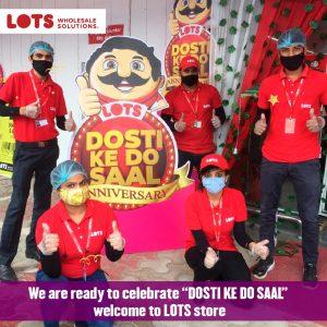 "LOTS wholesale solutions celebrates ""Dosti ke do saal"""