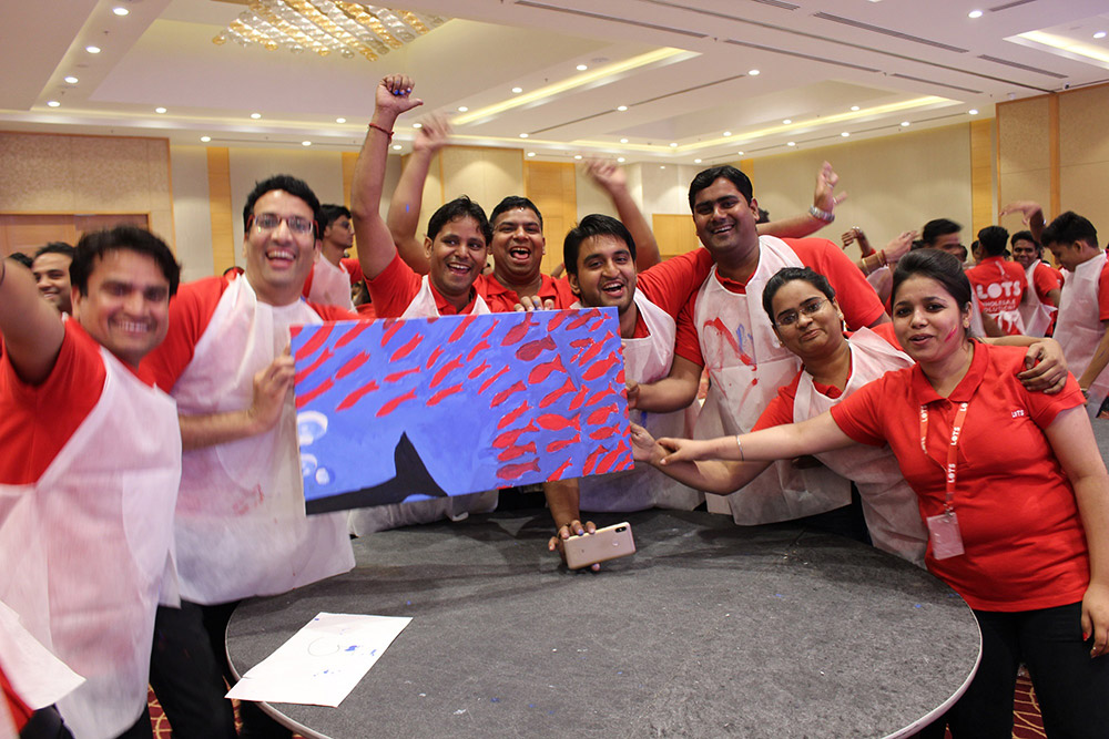 celebrating team of LOTS NSP